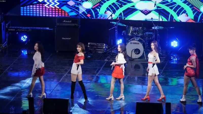 190515 Hongik Seoul Campus Fest  Red Velvet - Power up [Fancam]