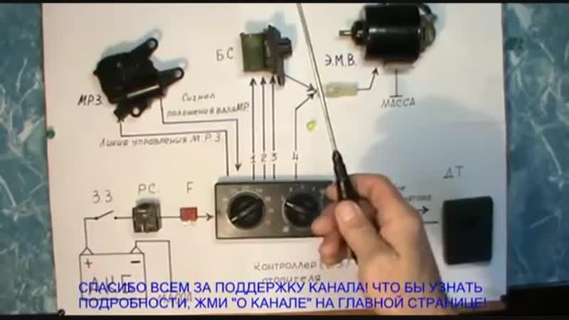 Печка. Отопитель салона ВАЗ 2110 - 11 -12. . Устройство и принцип работы. Автоэл