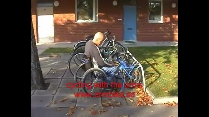 ARMBIKE Handcycles, Handicap bike, Wheelchair bike