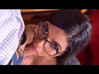 Sheila Ortega - Cum Load on Secretarys Tits (Blowjob, Big Tits, Black Hair, Latina)