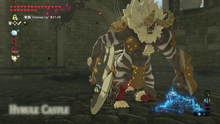 How to Get Lynel Weapons from Hyrule Castle in Zelda Breath of the Wild