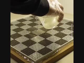 Шахматы и доска ручной работы - Заметки строителя