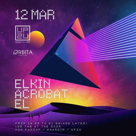 Elkin Tuesday @ UP2U View Point Resort DJ Bar 12 03 2019 Koh Phangan