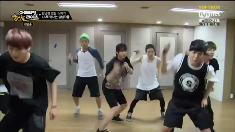 Озвучка SOFTBOX BTS American Hustle Life 01 эпизод 360p