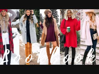 Stylish outfit ideas for january 2019 winter fashion lookbook