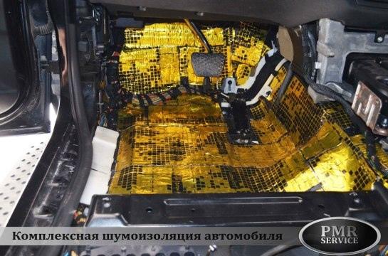Шумоизоляция BMW X5, изображение №8