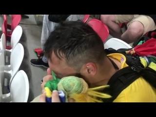 Бразилец плачет после матча Бразилия - Бельгия,держись Томер...