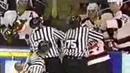 Valeri Kamensky vs Scott Niedermayer Hockey Fight