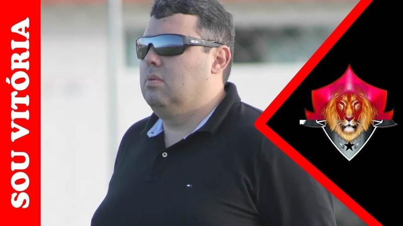 Vitória contrata Alarcon Pacheco para o cargo de gerente de futebol