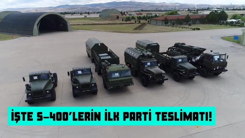 İşte S-400'lerin İlk Parti Teslimatı Rusya'dan Görüntüler- Türkiye'ye Gelişi!