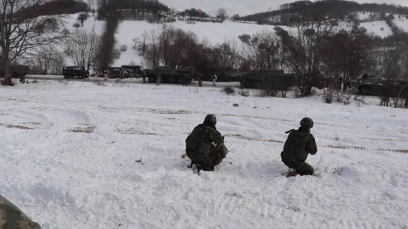 KFOR Units train regularly all over Kosovo KOSOVO 12 01 2019