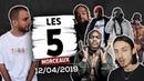 Kekra, Niska, Romeo Elvis, Dosseh, Alonzo ...- Les5Morceaux du 12/04/19 OKLM TV