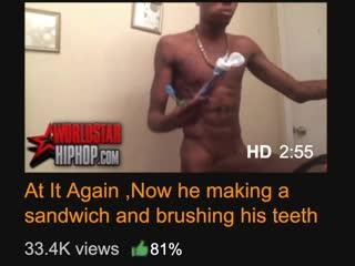 Making a sandwich and brushing teeth