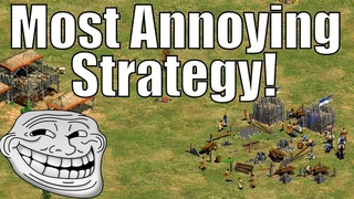AoE2 - The Most Annoying Strategy!? Team Douching!