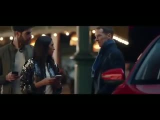 Benedict cumberbatch in the new mg hector advert.