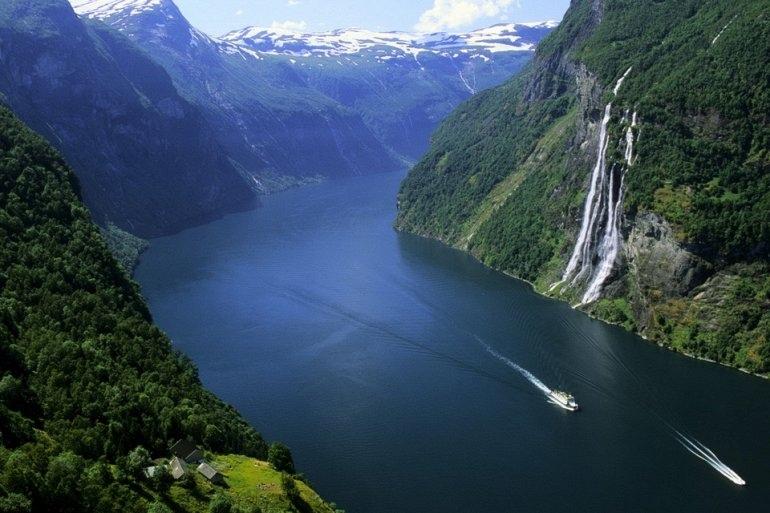 """Водопад """"Семь Сестер"""" в Норвегии, изображение №4"""