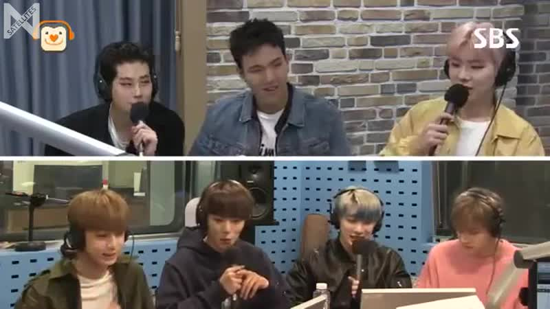 Рус саб 19 10 2016 SBS Power FM Kim Changryul's Old School Radio