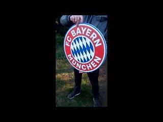 Футбольный клуб Бавария / FC Bayern на досках. Подарок футболисту.