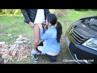 [CzechHitchhikers] Public Fuck New Porn 2019