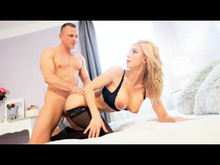 Nathaly Cherie - Slow romantic fuck in stockings Cage