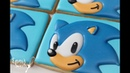 How to Make Sonic the Hedgehog Cookies by Emma's Sweets