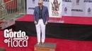 Pitbull plasmó sus huellas en cemento e hizo historia en el Teatro Chino | GYF