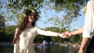 Нежное свадебное видео на закате (тизер)