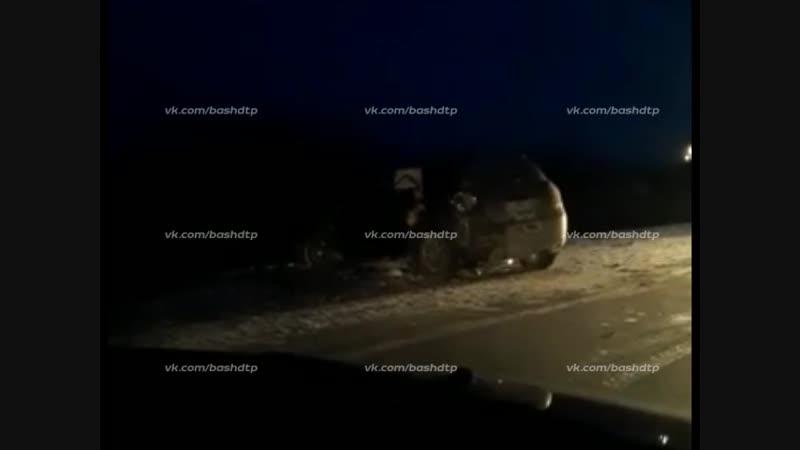 ДТП около Киргиз-Мияков 8.01.2019