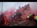 Фанаты Ливерпуля разгромили автобус Манчестер Сити перед матчем ЛЧ