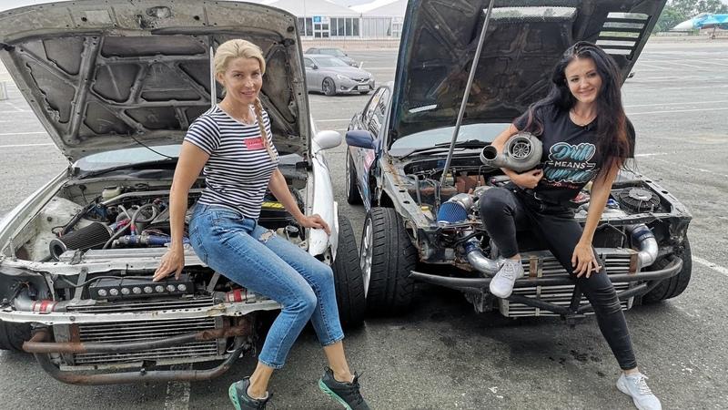 Екатерина Седых АВТОдевочки КОРОЛЕВА ДРИФТА