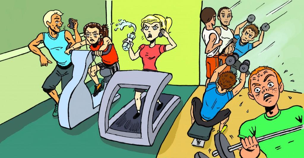 Прикольные картинки, картинки смешные про фитнеса