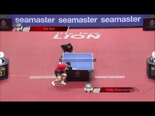Fan Zhendong vs Xu Xin | Japan Open 2019 (1/2)