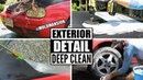 Complete Disaster Full Car Exterior Detailing! Deep Cleaning A Volkswagen Golf Cabrio