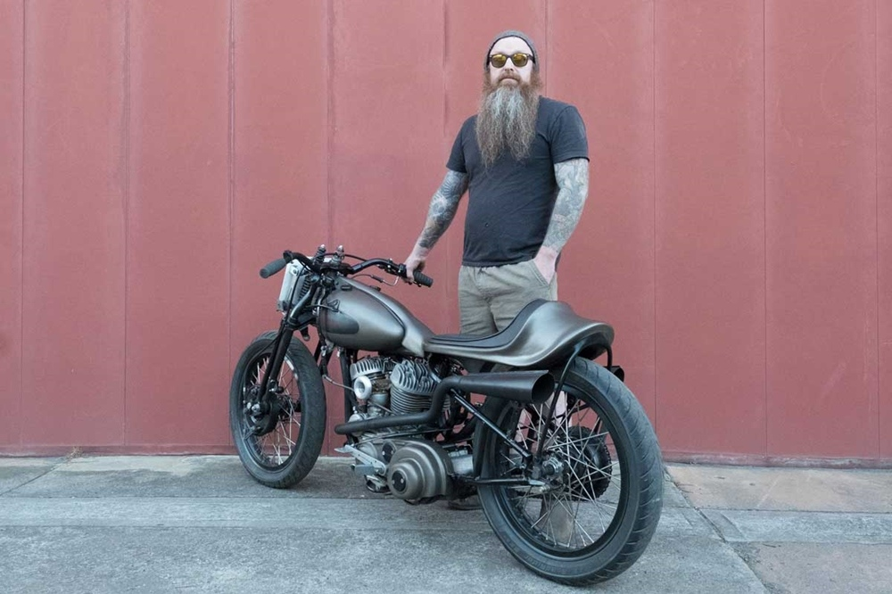 Tim Kill Customs: кастом Harley-Davidson WLA