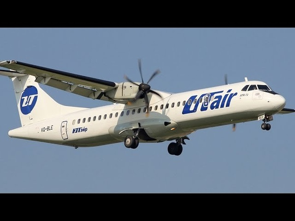 ATR 72 500 72 212A VQ BLE UTair Vnukovo Landing 2012