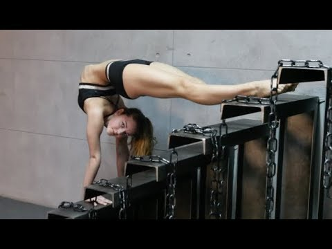 Training STRETCHING contortionist, Contortion contortion flexilady stretching girl