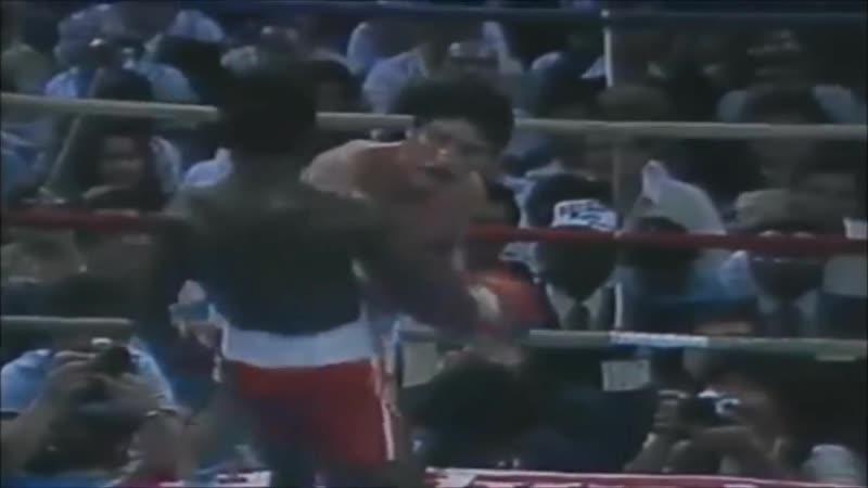 Лучшие моменты карьеры легендарного Профессора бокса - Азумы Нельсона