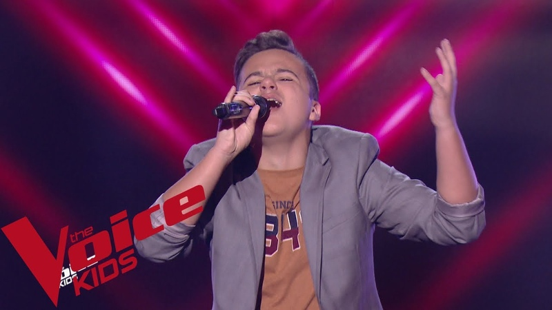 Shawn Mendes - In my blood   Mathias   The Voice Kids France 2019   Blind Audition