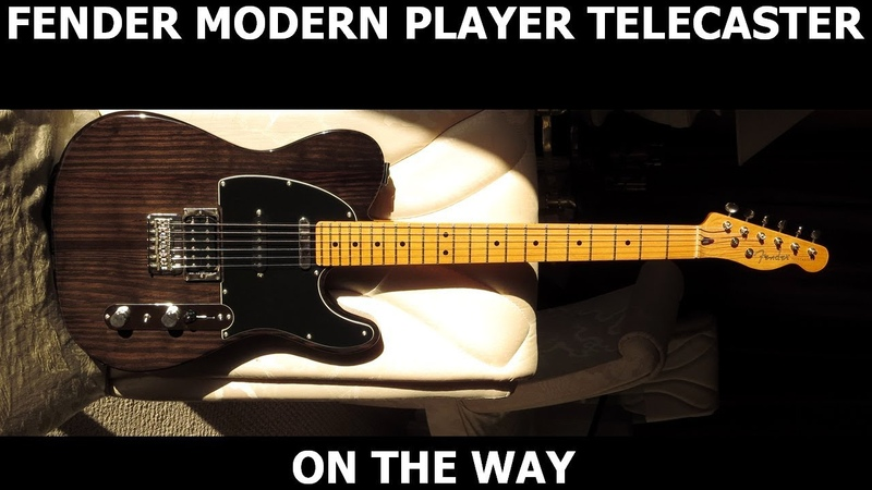 On The Way Jack Thammarat Cover Modern Player Telecaster Plus