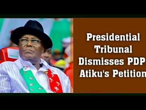 Tribunal Dismisses Atiku's Petition Wike Salutes Buhari 188 Nigerians Return Adeboye's Advice