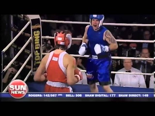 "PRIME MINISTER JUSTIN ""RUSH"" TRUDEAU DESTROYS OPPONENT IN A RING -  FIGHT HIGHLIGHTS  -"