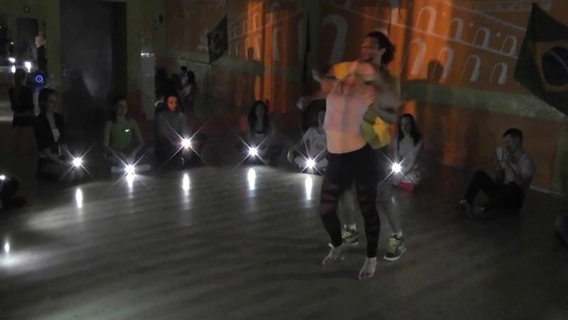 Zouk Class 24 04 17 at Brazuka Dance School Wakko and Mari