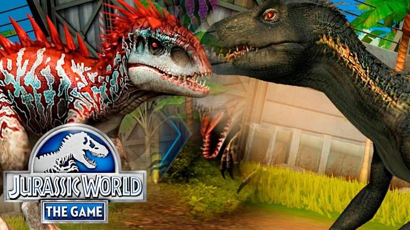 Выводим ИНДОМИНУСА и ИНДОРАПТОРА - Jurassic World The Game 221