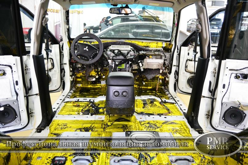 Шумоизоляция Mitsubishi Pajero, изображение №2