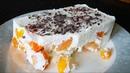 Творожный десерт с абрикосами без выпечки Быстро и Просто ПП