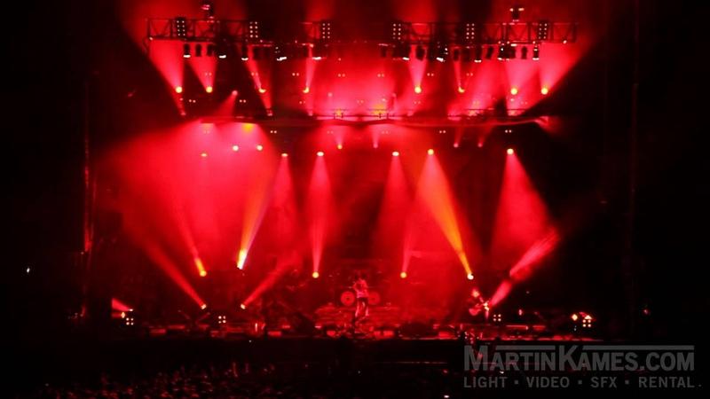 Heaven Shall Burn Summerbreeze 2014 Lights SFX by