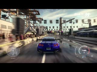 Need for speed heat exclusive raw gameplay - nissan gt-r customization & police chase