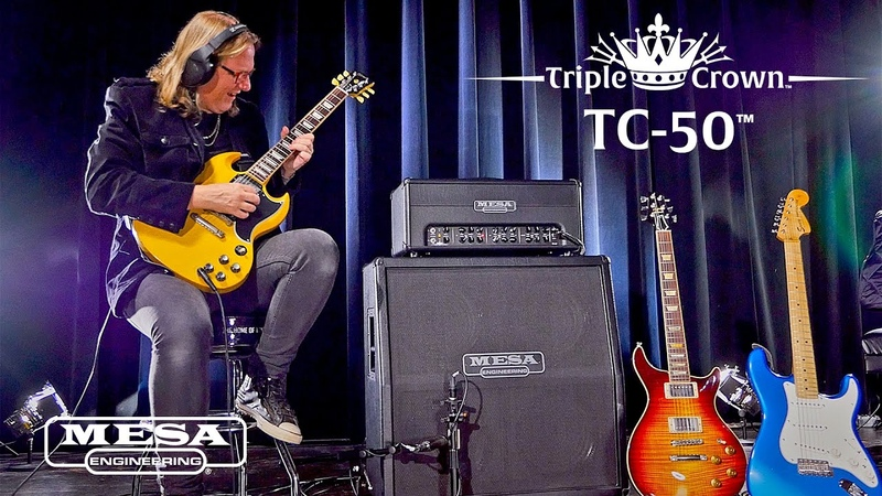 MESABoogie Triple Crown TC-50 – Classic Rock