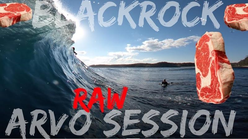 RAW and PERFECT BLACKROCK The Arvo session Bodyboarding POV