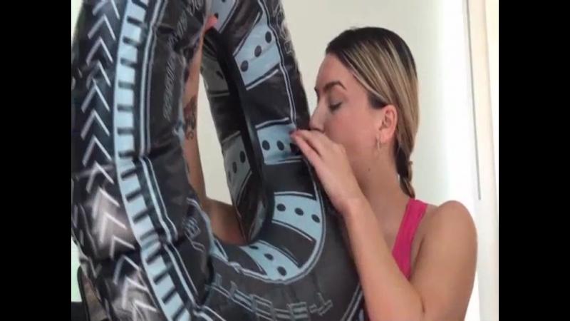 Megan Jones Tire Inflatable 1